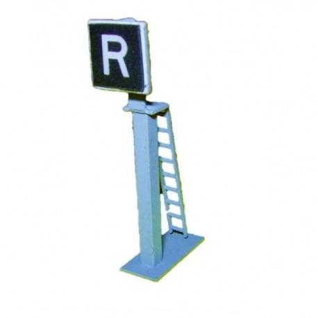"""SIGNAL PANNEAU """"R"""""""